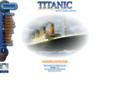 Náhled webu Titanic World