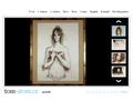 Náhled webu Tomáš Šolc - kresby