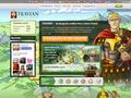 Náhled webu Travian