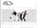 Náhled webu Taneční studio Andrea Praha