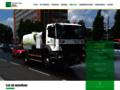 Náhled webu Technické služby Zlín