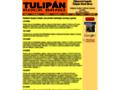 Náhled webu Tulipán