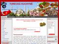 Náhled webu Turecká kuchyně