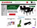 Náhled webu Tv products.cz