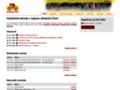 Náhled webu Unie amatérských cyklistů
