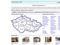 Náhled webu Ubytování v ČR