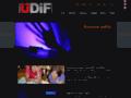 Náhled webu ÚDiF – Divadlo fyziky