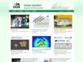 Náhled webu Ústav geoniky AV