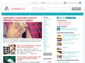 Náhled webu U lékaře - medicína na jednom místě
