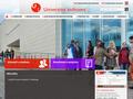 Náhled webu Knihovna univerzity Pardubice