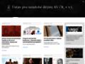 Náhled webu Ústav pro soudobé dějiny AV