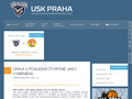 Náhled webu USK Praha