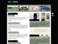 Náhled webu Architektura na severu Čech