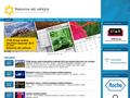 Náhled webu Nadace pro výzkum rakoviny Olomouc