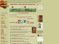 Náhled webu Vegetarian.cz