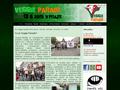 Náhled webu Veggie Parade
