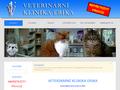 Náhled webu Veterinární klinika Erika