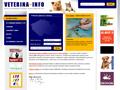 Náhled webu Veterina-info