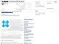 Náhled webu Národní ekonomická rada  Vlády ČR (NERV)