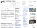 Náhled webu Rada vlády pro koordinaci protidrogové politiky
