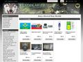 Náhled webu Vlkodlak - Armyshop