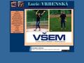 Náhled webu Vrbenská  Lucie