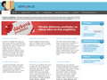 Náhled webu Výuka angličtiny on-line