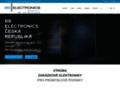 Náhled webu Wendell Electronics, a.s.