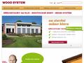 Náhled webu Wood System s.r.o.