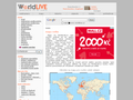Náhled webu Worldlive.cz: Mapy světa