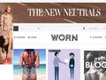 Náhled webu Worn magazin
