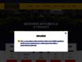 Náhled webu Autoškola Wyrwolová