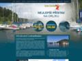 Náhled webu Yacht Club Barrandov