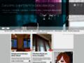 Náhled webu Časopis o bytových dekoracích