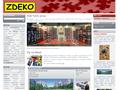 Náhled webu ZDEKO — puzzle