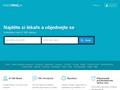 Náhled webu Vyhledávání a hodnocení lékařů