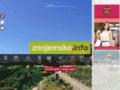 Náhled webu Znojemsko - turistický průvodce