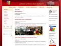 Náhled webu Symfonický orchestr Na Popelce