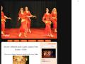 Náhled webu Yalla! - orientální taneční skupina Neratovice