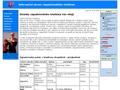 Náhled webu Informační server západočeského triatlonu