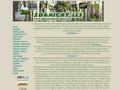 Náhled webu Ždánický les