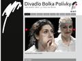 Náhled webu Divadlo Bolka Polívky
