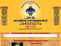 Náhled webu Duchovní universita Bytí