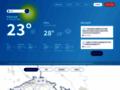 Náhled webu Meteopress Online