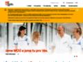 Náhled webu Masarykův onkologický ústav