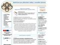 Náhled webu Společnosti pro plánování rodiny a sexuální výchovu