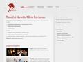 Náhled webu Taneční divadlo Mimi Fortunae