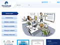 Náhled webu Threshold - Training Associates